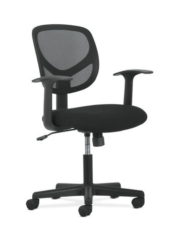Sadie Mid-Back Task Chair | Fixed Arms ; UPC: 888206724728 ; Image 1