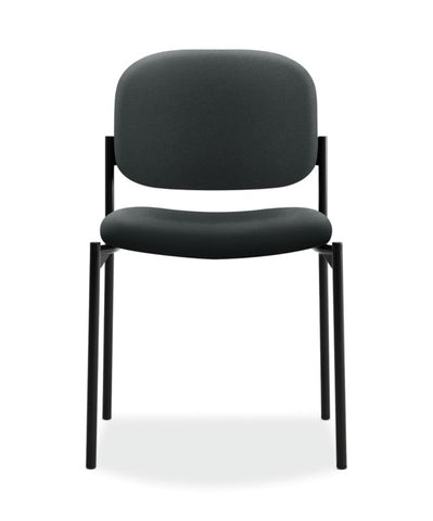 HON Scatter Stacking Guest Chair | Charcoal Fabric ; UPC: 645162996213 ; Image 2