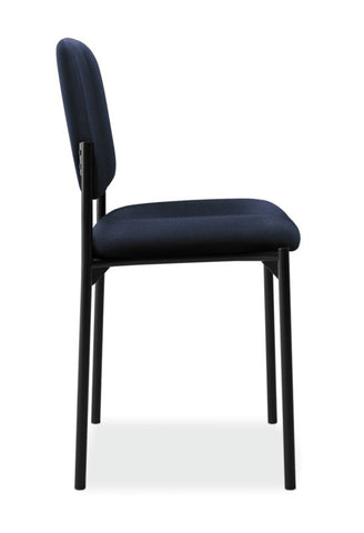 HON Scatter Stacking Guest Chair | Navy Fabric ; UPC: 782986472216 ; Image 3