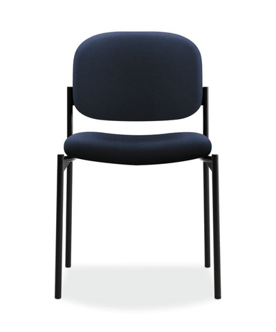 HON Scatter Stacking Guest Chair | Navy Fabric ; UPC: 782986472216 ; Image 2