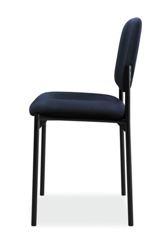 HON Scatter Stacking Guest Chair | Navy Fabric ; UPC: 782986472216 ; Image 4