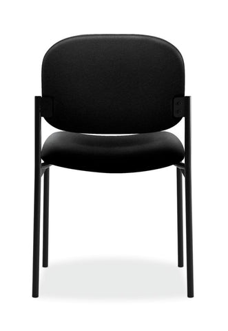 HON Scatter Stacking Guest Chair | Black Fabric ; UPC: 645162996190 ; Image 5