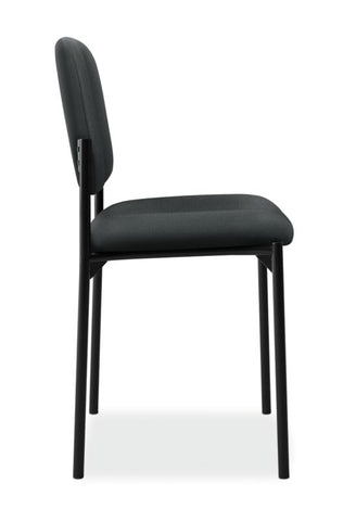HON Scatter Stacking Guest Chair | Charcoal Fabric ; UPC: 645162996213 ; Image 3