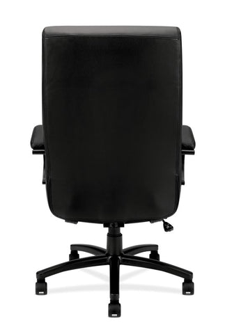 HON Validate Big and Tall Executive Chair | Center-Tilt, Tension, Lock | Black SofThread Leather ; UPC: 889218803579 ; Image 5