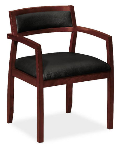 basyx by HON HVL852 Guest Chair BSXVL852NST11, Black (UPC:782986840770)