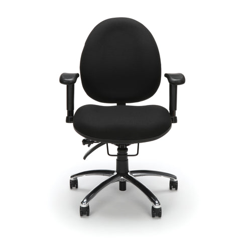 OFM 24 Hour Big and Tall Ergonomic Task Chair - Computer Desk Swivel Chair with Arms, Black (247) ; UPC: 845123031377 ; Image 2