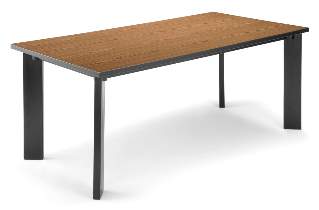 "OFM Model LIB3672 36"" x 72"" Multi-Purpose Library Table, English Oak ; UPC: 811588015832 ; Image 1"