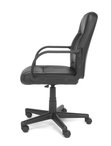 OFM Essentials Collection Executive Office Chair, in Black (E1007) ; UPC: 845123032411 ; Image 3