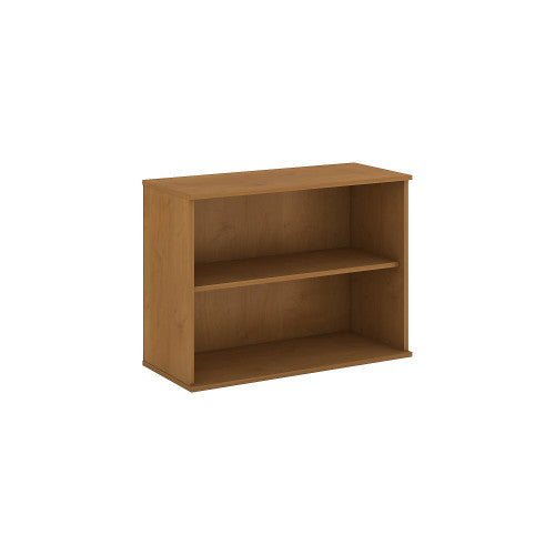 Bush BBF Bookcases 30H 2 Shelf Bookcase, Natural Cherry BK3036NC ; UPC: 042976498672 ; Image 1