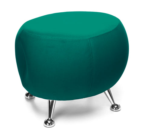 OFM Jupiter Series Fabric Ball Stool, in Green (2001-2331) ; UPC: 845123053355 ; Image 1