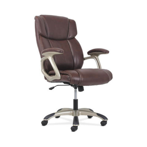 basyx by HON High-Back Executive Chair in Brown ; UPC: 888206724759