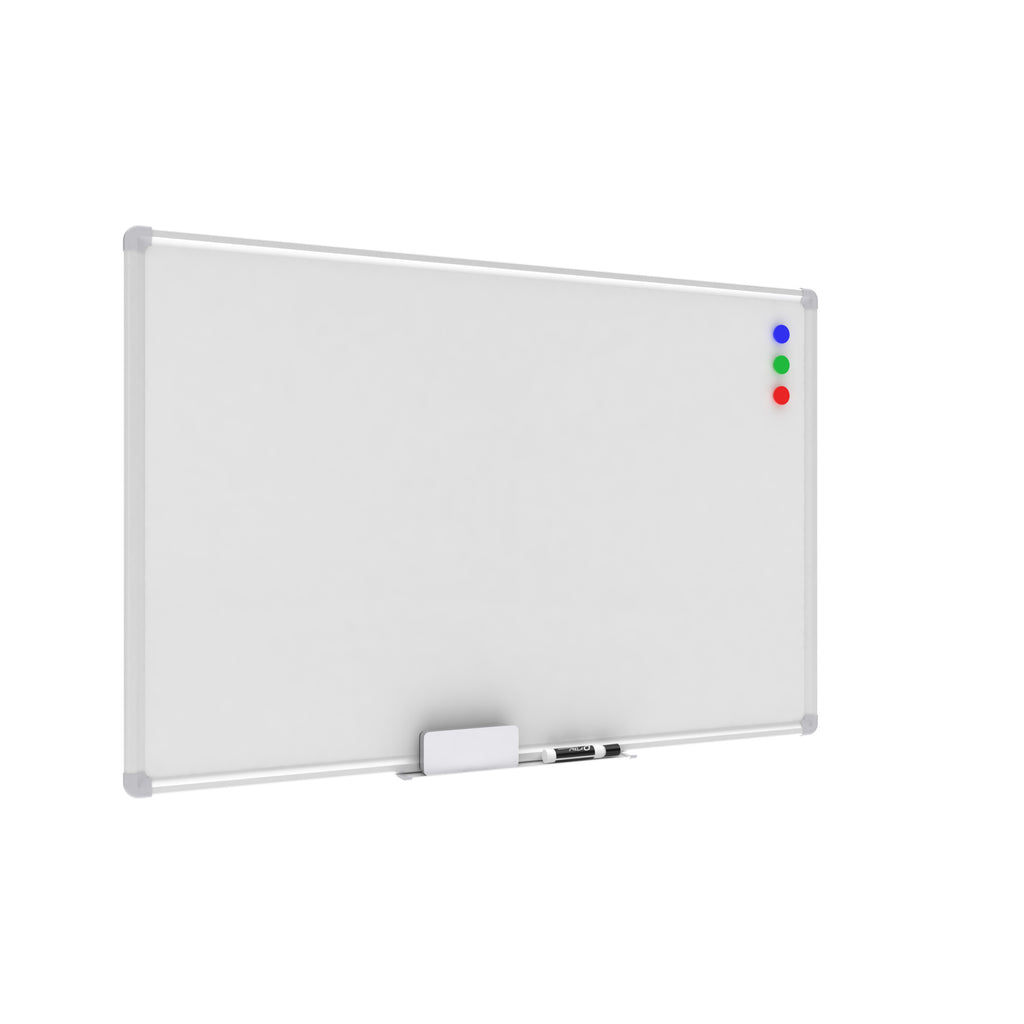 OFM Essentials Collection Magnetic Whiteboard with Aluminum Frame and Tray, 36 x 24 (ESS-8500) ; UPC: 192767001687 ; Image 1