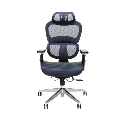 OFM Model 540-BLU Core Collection Ergo Mesh Office Chair with Head Rest for Computer Desk, Blue ; UPC: 192767000376 ; Image 2