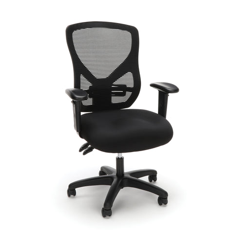 OFM Essentials Series Ergonomic Mesh Office Chair, in Black (ESS-3051) ; UPC: 192767000277 ; Image 1