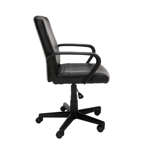 Essentials by OFM E1008 Mid Back Executive Chair, Black ; UPC: 845123032428 ; Image 4