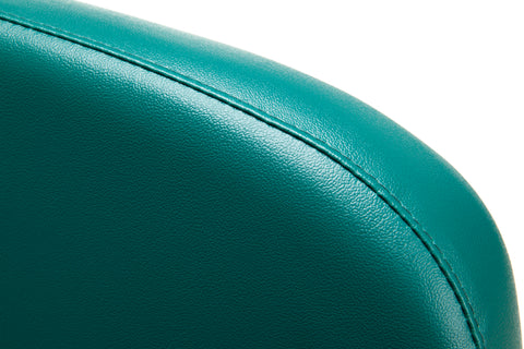 OFM Model 405-VAM Armless Guest and Reception Chair, Anti-Microbial/Anti-Bacterial Vinyl, Teal ; UPC: 811588014323 ; Image 6