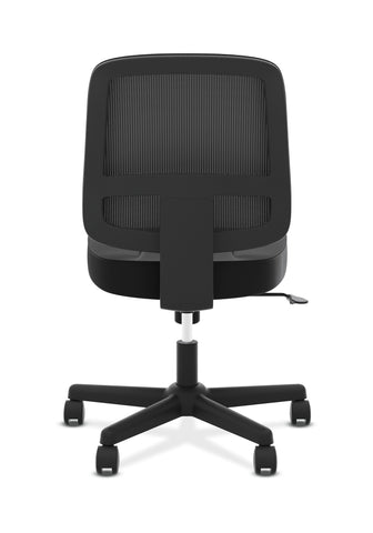 HON ValuTask Task Chair, Mesh Back Computer Chair for Office Desk, Black (HVL205) ; UPC: 089191179368 ; Image 3