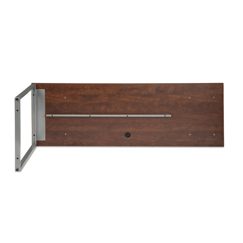 OFM Fulcrum Series 72x24 Credenza Desk, Desk Shell for Office, Cherry (CL-C7224-CHY) ; UPC: 845123097267 ; Image 7