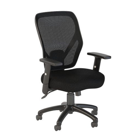 Bush Business Furniture Accord Mesh Back Office Chair in Black Fabric (CH1205BLF-03) ; Image 1