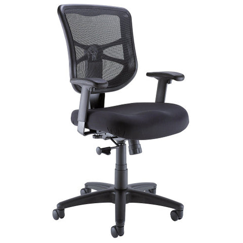 Bush BBF Commercial Chairs Mesh Back Managers Chair, CH57504K ; UPC: 042976498535 ; Image 1