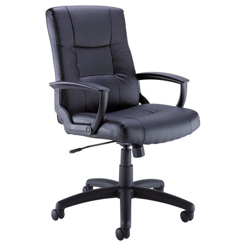 Bush BBF Commercial Chairs Leather Managers Chair, CH57505K ; UPC: 042976498559 ; Image 1