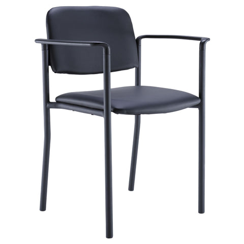 Bush Business Furniture Guest Chair in Black ; UPC: 042976498573 ; Image 1