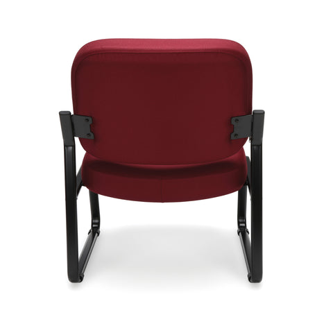 OFM Big and Tall Guest/Reception Chair, Wine ; UPC: 845123028643 ; Image 3