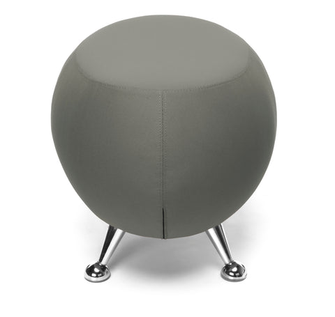 OFM Jupiter Series Fabric Ball Stool, in Gray (2001-2315) ; UPC: 845123053331 ; Image 4
