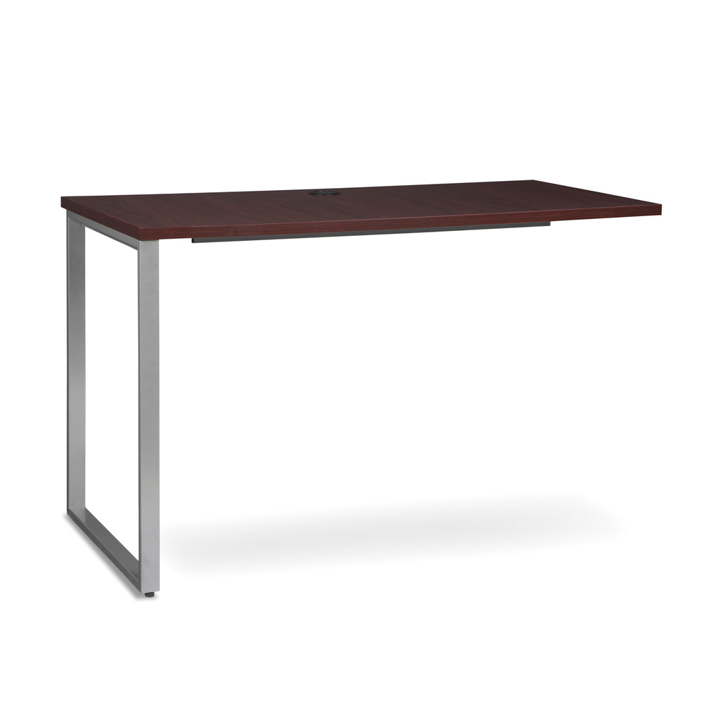 OFM Fulcrum Series 48x24 Return Desk, Office Desk Return, Mahogany (CL-R4824-MHG) ; UPC: 845123097373 ; Image 1