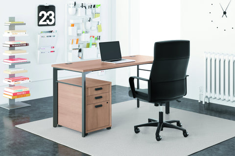 HON Validate High-Back Executive Task Chair, Fixed Arms, in Black Leather (HVL604) ; UPC: 888531643459 ; Image 6
