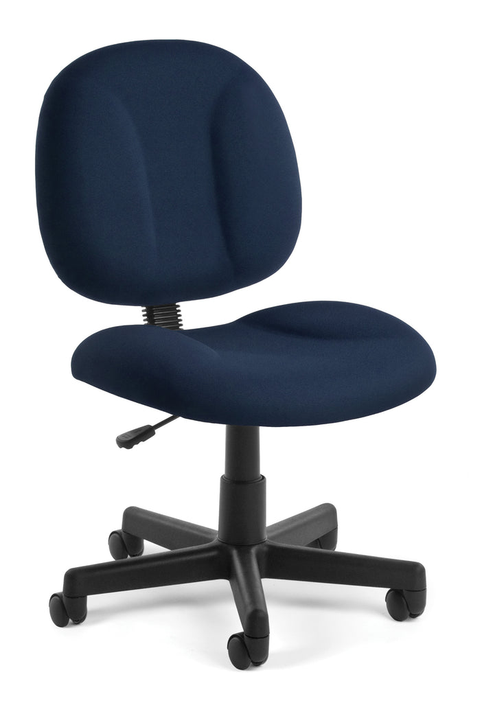 "OFM 105-804""Superchair Task Chair with Navy Fabric ; UPC: 811588012473 ; Image 1"