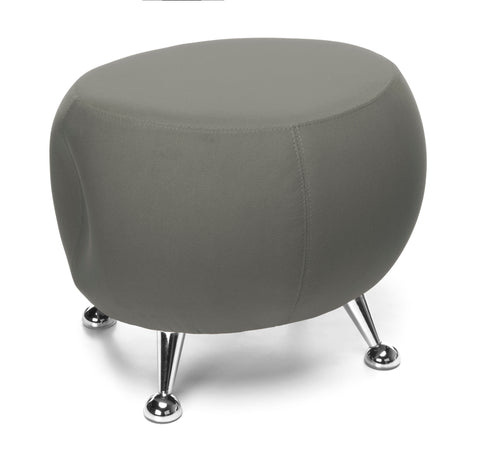 OFM Jupiter Series Fabric Ball Stool, in Gray (2001-2315) ; UPC: 845123053331 ; Image 1