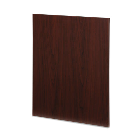 "OFM Fulcrum Series 24"" End Leg Panel Insert for Desk Closure, Two Pack, Mahogany (CL-SP24D-MHG) ; UPC: 845123097809 ; Image 3"