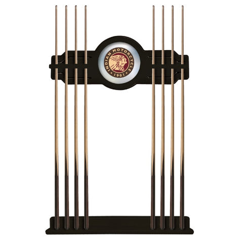 Indian Motorcycle Cue Rack in Black Finish by Holland Bar Stool; UPC: 071235437220