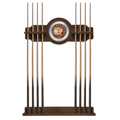 Indian Motorcycle Cue Rack in Chardonnay Finish by Holland Bar Stool; UPC: 071235437237