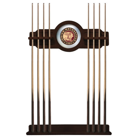 Indian Motorcycle Cue Rack in English Tudor Finish by Holland Bar Stool; UPC: 071235437244