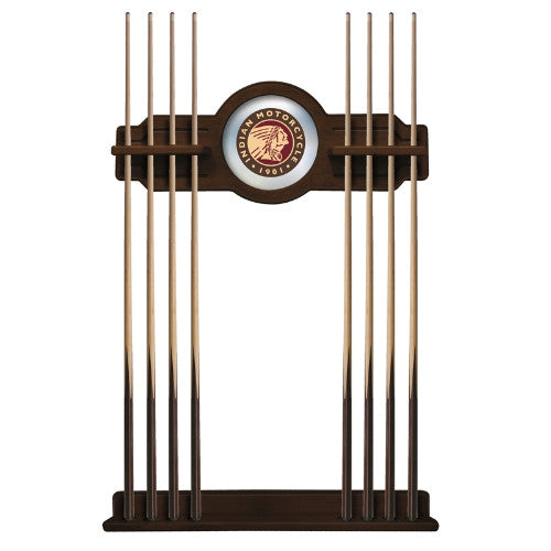 Indian Motorcycle Cue Rack in Navajo Finish by Holland Bar Stool; UPC: 071235437251