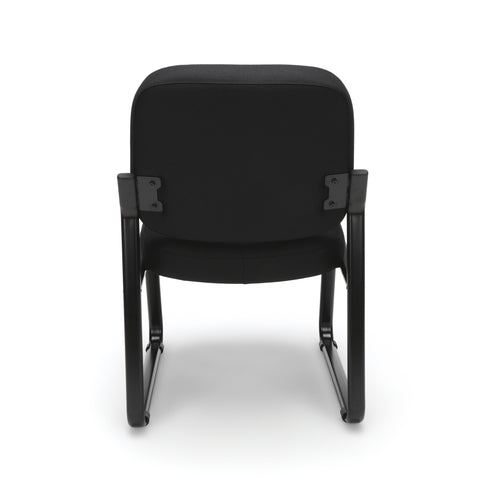 OFM Model 405 Fabric Armless Guest and Reception Chair, Black ; UPC: 811588014309 ; Image 3