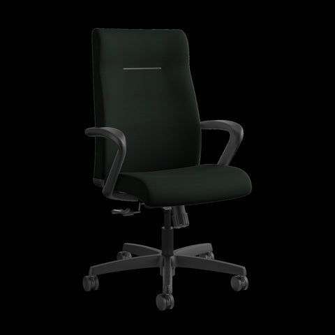 HON Ignition Executive High-Back Task Chair, in Black PU Leather (HIEH1) ; UPC: 089191965961 ; Image 1