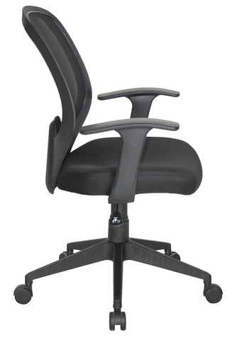 Essentials by OFM E1000 Mesh Swivel Task Chair with Arms, Black ; UPC: 845123025123 ; Image 4