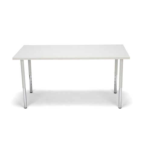 OFM Adapt Series Rectangle Standard Table - 23-31? Height Adjustable Desk, Gray Nebula (RECT-LL) ; UPC: 845123096031 ; Image 2