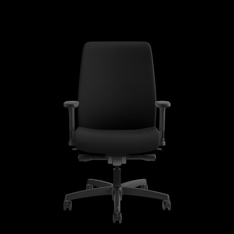 HON Endorse Mid-Back Task Chair with Lumbar Support, in Black (HLWU) ; UPC: 888531769357 ; Image 2