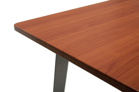 "OFM Core Collection 55"" Computer Desk, in Cherry (1055-SLV-CHY) ; UPC: 192767000888 ; Image 8"