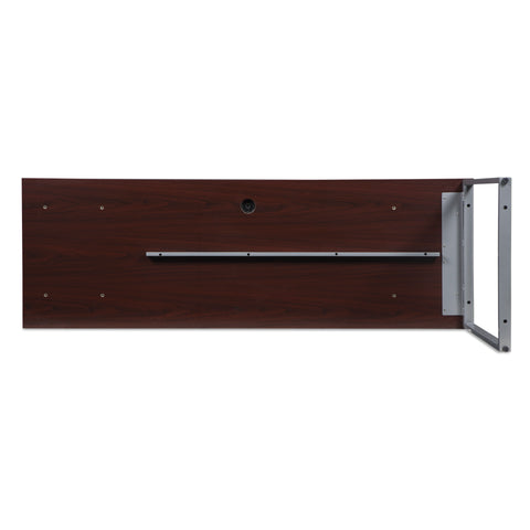 OFM Fulcrum Series 72x24 Credenza Desk, Desk Shell for Office, Mahogany (CL-C7224-MHG) ; UPC: 845123097250 ; Image 7