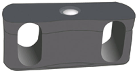 OFM Ganging Bracket for Rico Series Stack Chair Models 306 and 309, Dark Gray ; UPC: 845123012901 ; Image 1