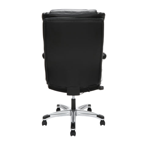 OFM Essentials Series Ergonomic Executive Bonded Leather Office Chair, in Black (ESS-6046-BLK) ; UPC: 192767000291 ; Image 5