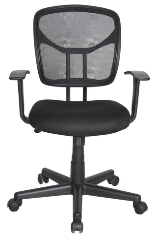 Essentials by OFM E1001 Computer and Task Chair, Black ; UPC: 845123025130 ; Image 2