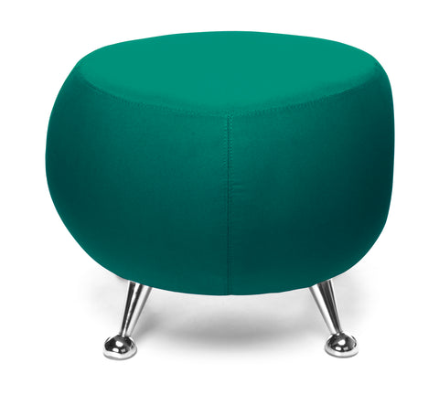 OFM Jupiter Series Fabric Ball Stool, in Green (2001-2331) ; UPC: 845123053355 ; Image 3