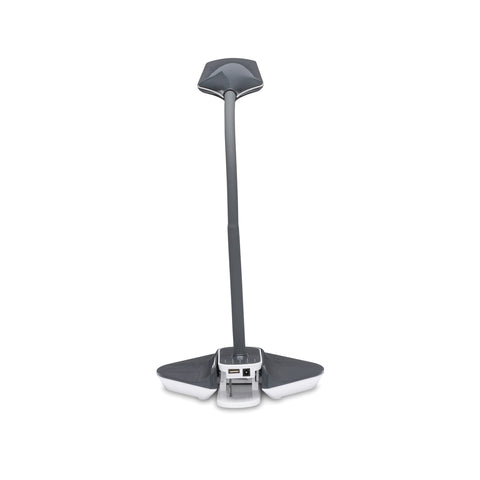 OFM ESS-9001-GRY Essentials LED Desk Lamp with Removable Base and Integrated Desk Clamp, Gray ; UPC: 192767000475 ; Image 3