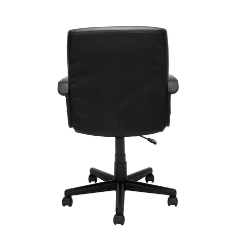 Essentials by OFM E1008 Mid Back Executive Chair, Black ; UPC: 845123032428 ; Image 3